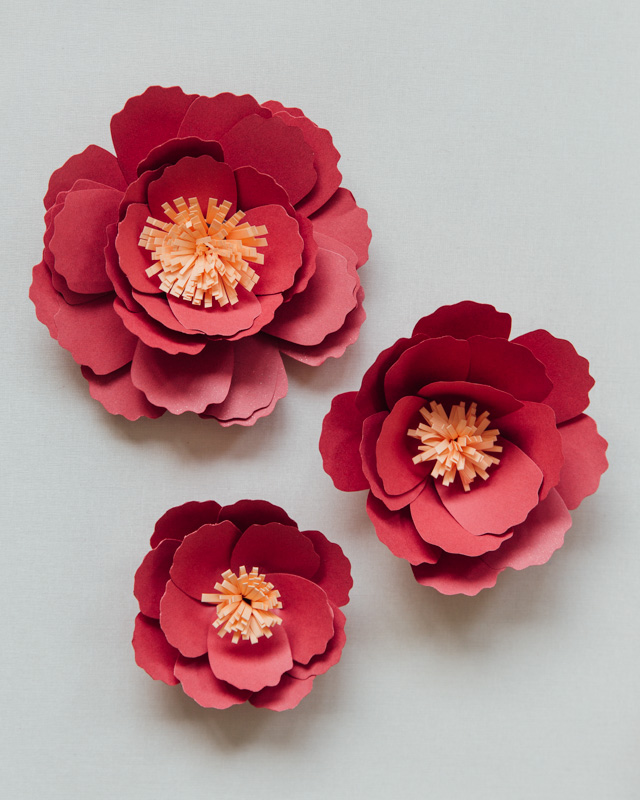 Diy paper peonies hong kong wedding blog heres an idea create a large flower without the stamen and use it as the base for teacups served during your tea ceremony it would be the perfect extra mightylinksfo