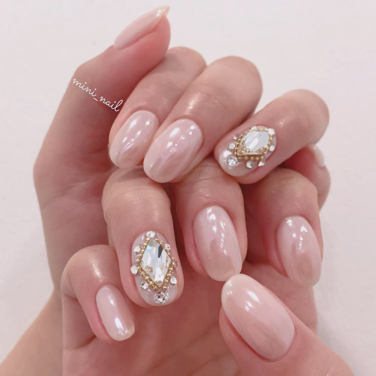 35 nail art designs for your wedding hong kong wedding blog nail design mini nail prinsesfo Images