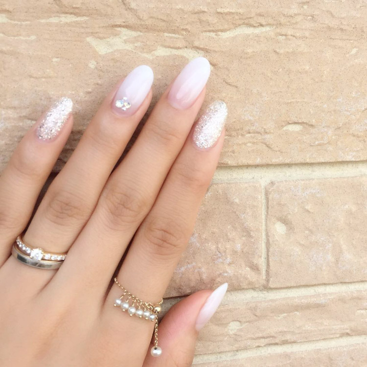 018 Bnbhk Bridal Wedding Nails Nailart M716nail 2 Bride