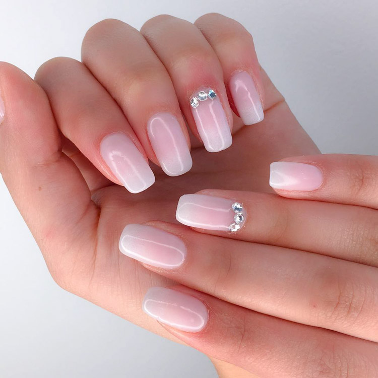 023 Bnbhk Bridal Wedding Nails Nailart Nailz By Nancy 3
