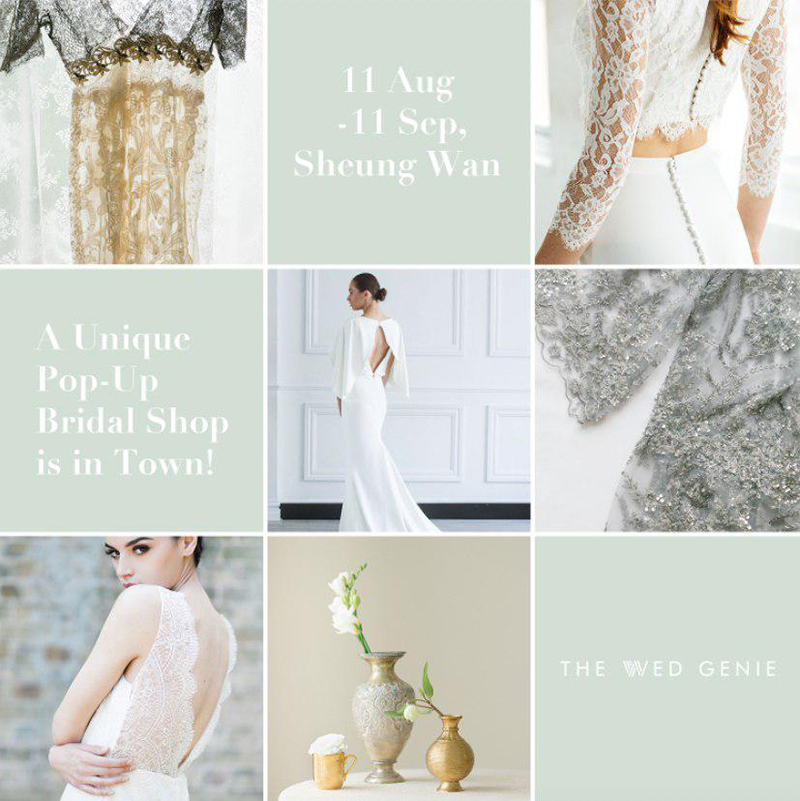 The Wed Genie Pup-up Bridal Booth – Bride and Breakfast HK