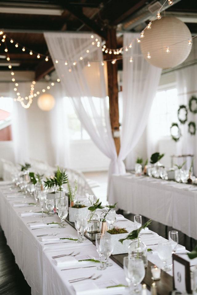 Elegant minimalist wedding setups hong kong wedding blog for Minimalist decor blog