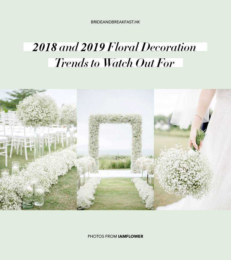 2018-2019 Floral Decoration Trends